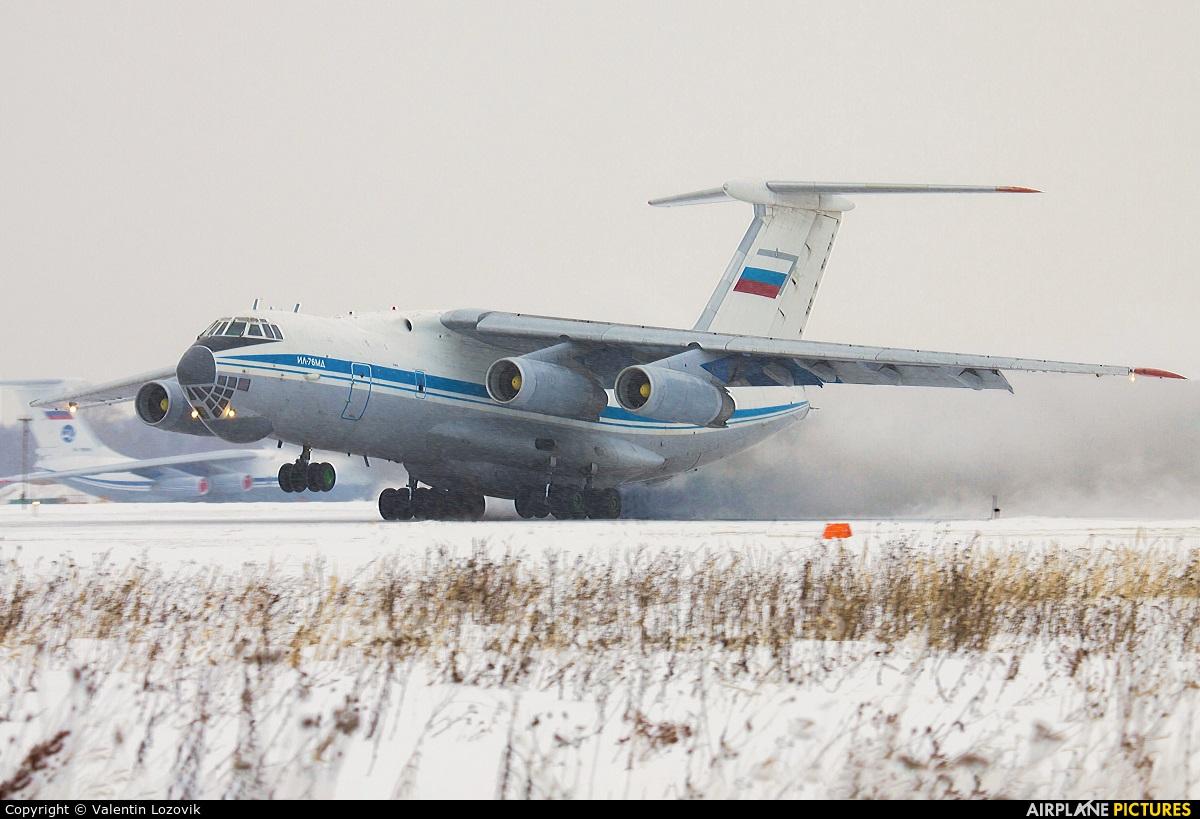 Russia - Air Force RA-76772 aircraft at Tver - Migalovo