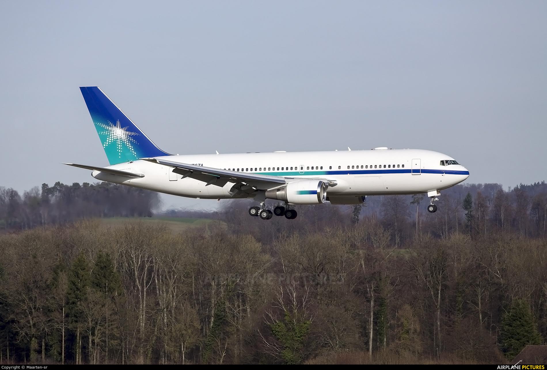 Saudi Aramco Aviation N767A aircraft at Zurich