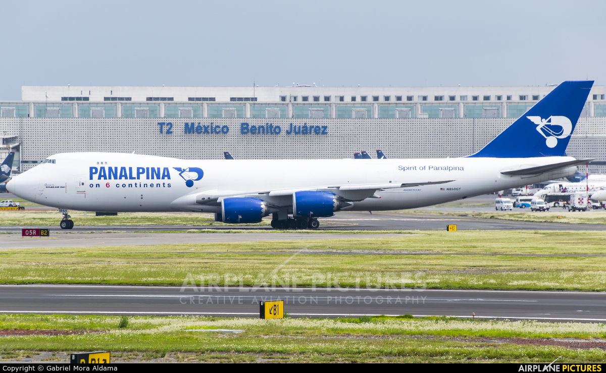 Panalpina N850GT aircraft at Mexico City - Licenciado Benito Juarez Intl
