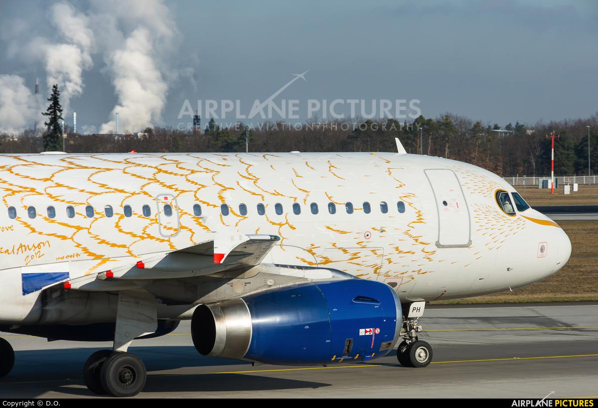 British Airways G-EUPH aircraft at Frankfurt