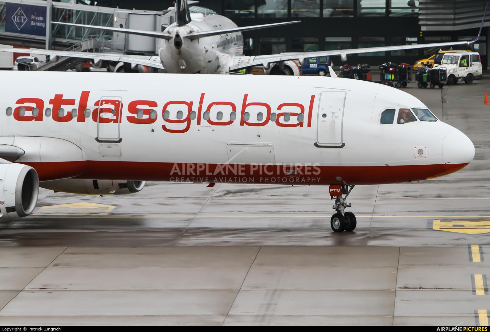 Atlasglobal TC-ETM aircraft at Zurich