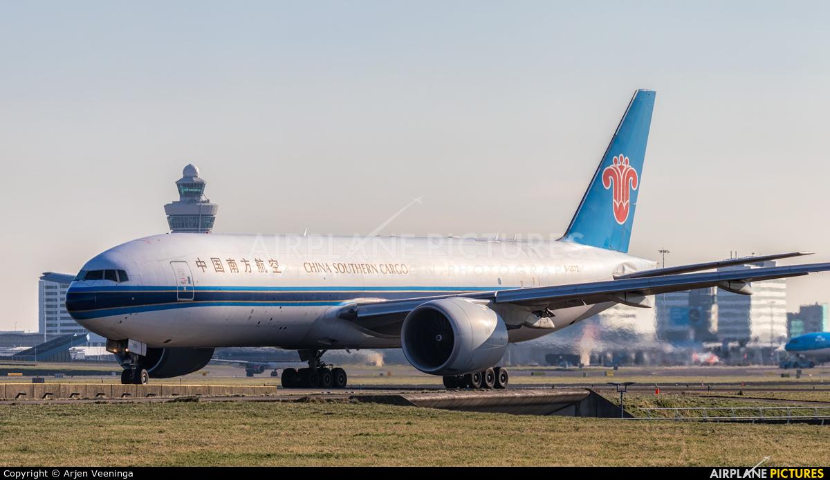 China Southern Cargo B-2072 aircraft at Amsterdam - Schiphol
