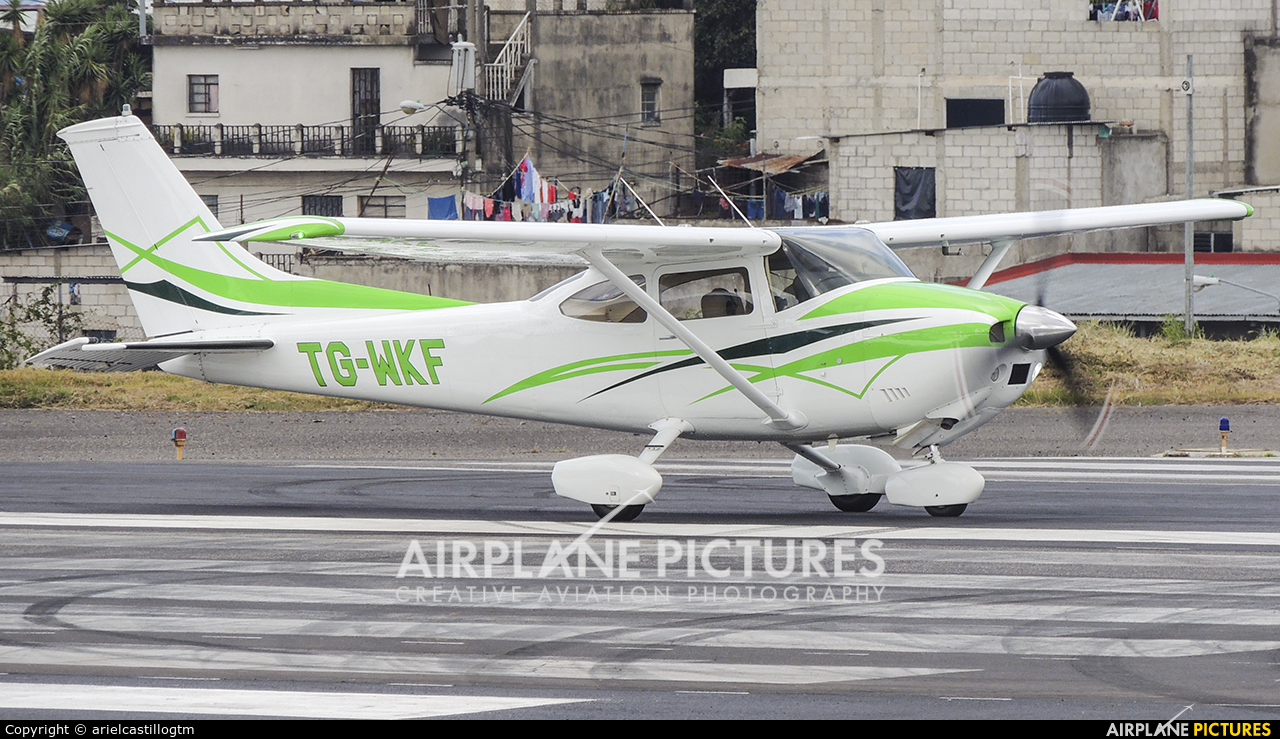 Private TG-WKF aircraft at Guatemala - La Aurora