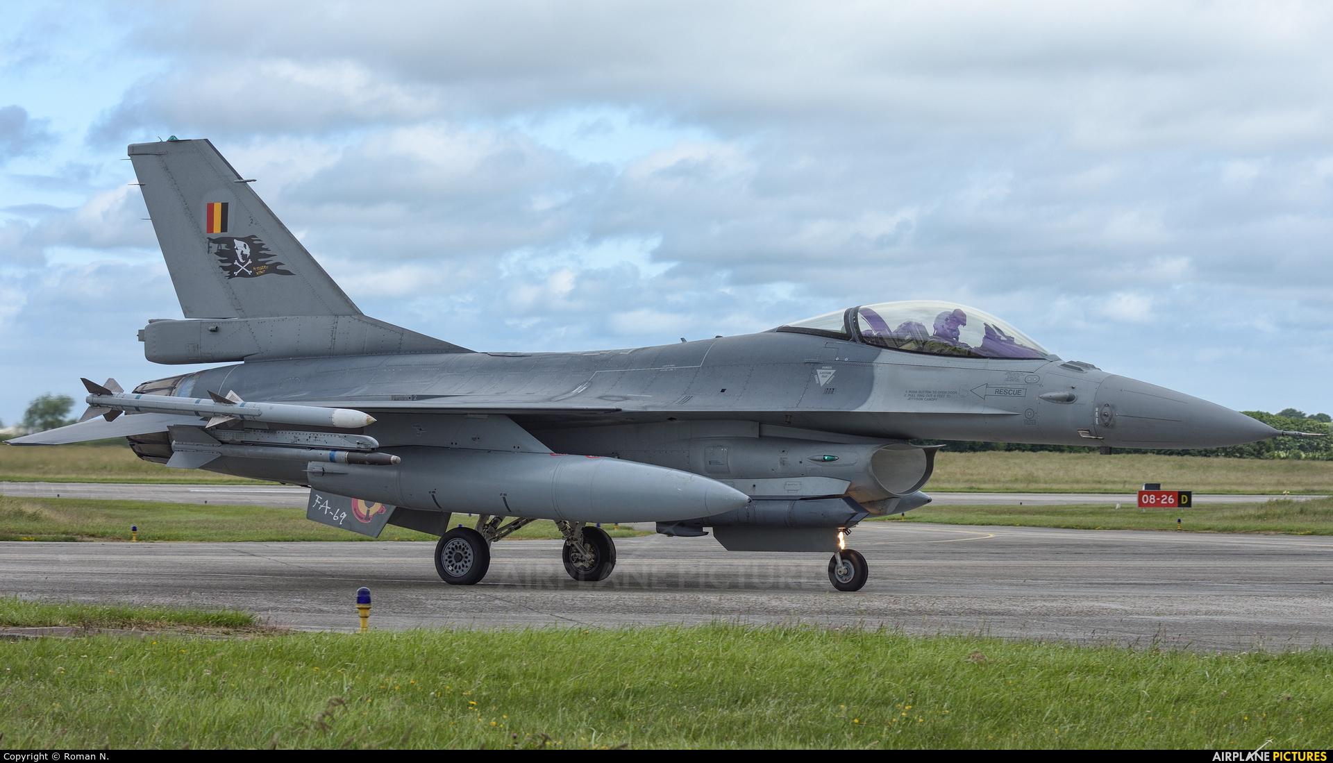Belgium - Air Force FA-69 aircraft at Landivisiau