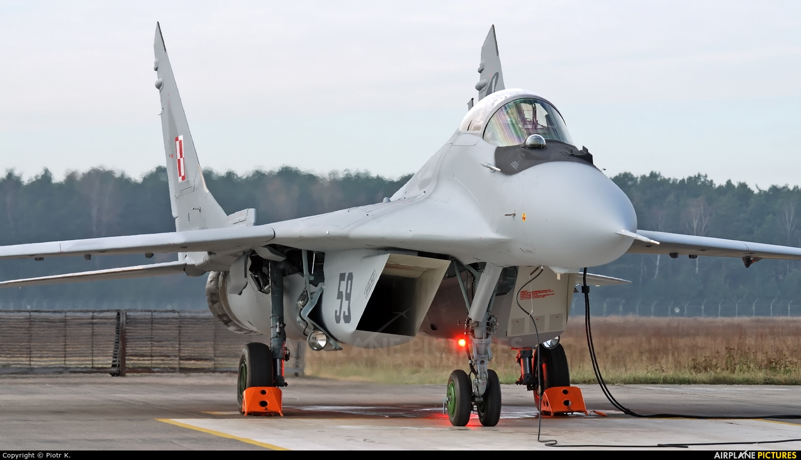 Poland - Air Force 59 aircraft at Bydgoszcz - Szwederowo