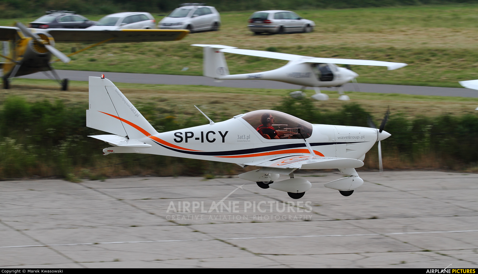 3AT3 Formation Flying Team SP-ICY aircraft at Kraków, Rakowice Czyżyny - Museum of Polish Aviation