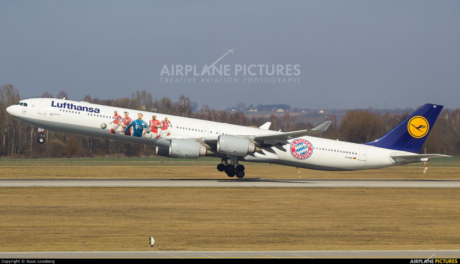 Lufthansa D-AIHK aircraft at Munich