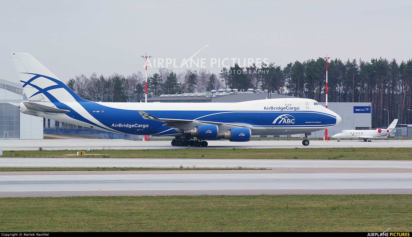 Air Bridge Cargo VP-BIM aircraft at Rzeszów-Jasionka