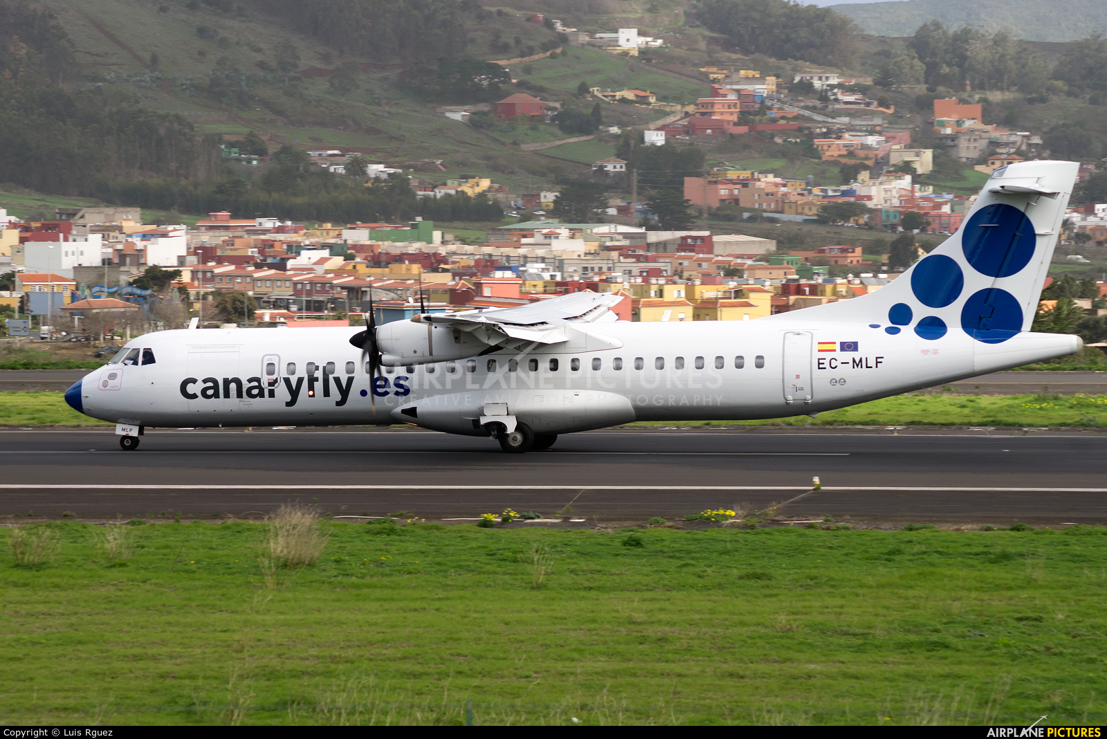 CanaryFly EC-MLF aircraft at Tenerife Norte - Los Rodeos