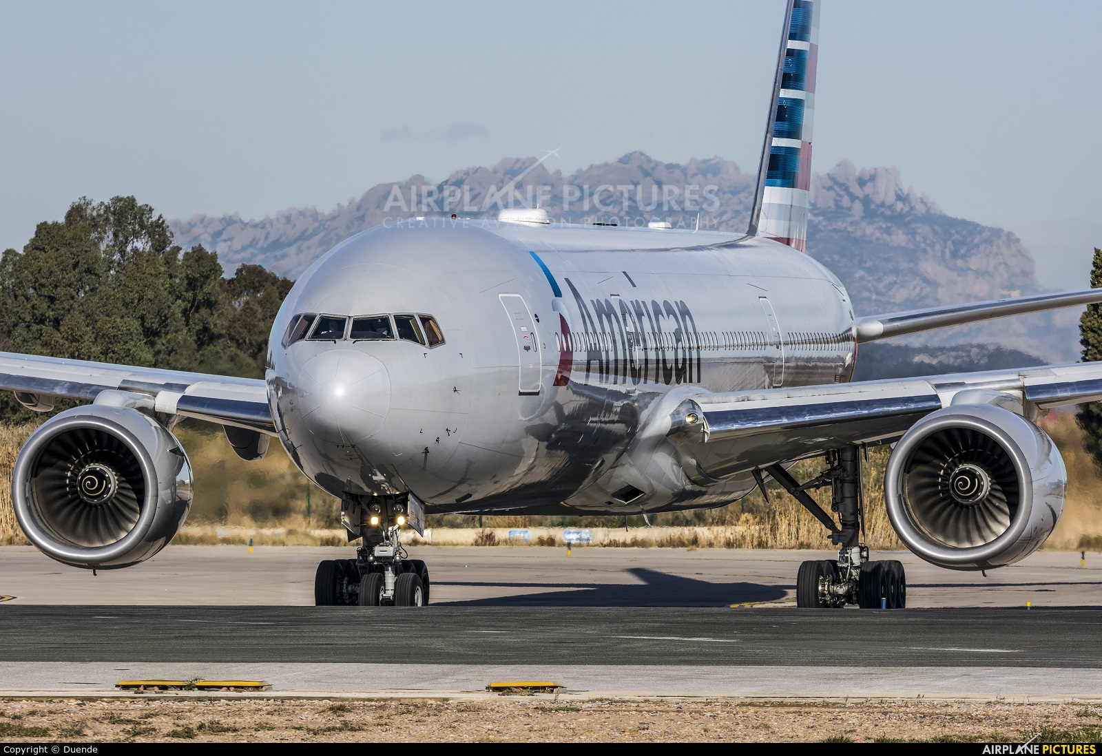 American Airlines N757AN aircraft at Barcelona - El Prat