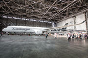 Airbus A350-1000 presentation at Tokyo Haneda Airport title=