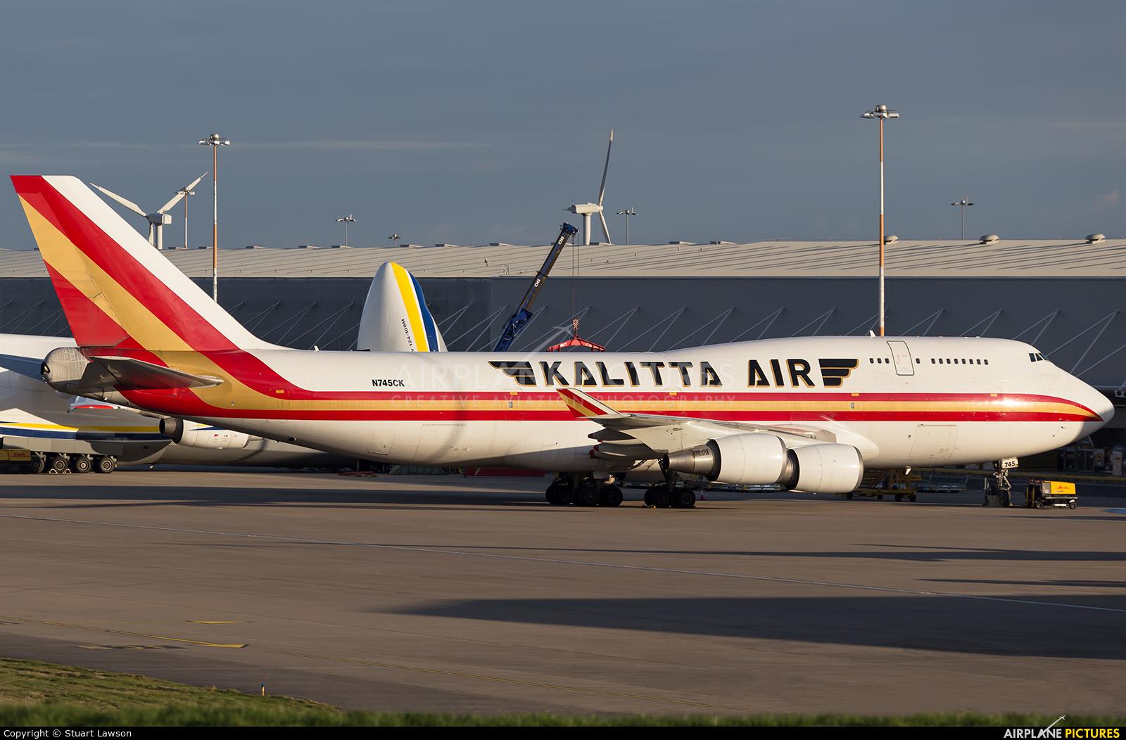 Kalitta Air N745CK aircraft at East Midlands