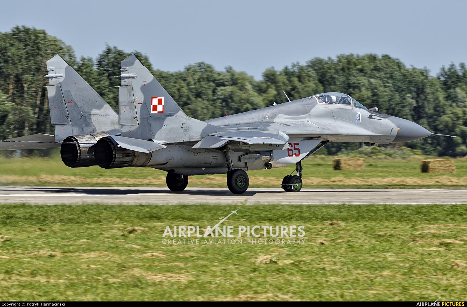 Poland - Air Force 65 aircraft at Malbork