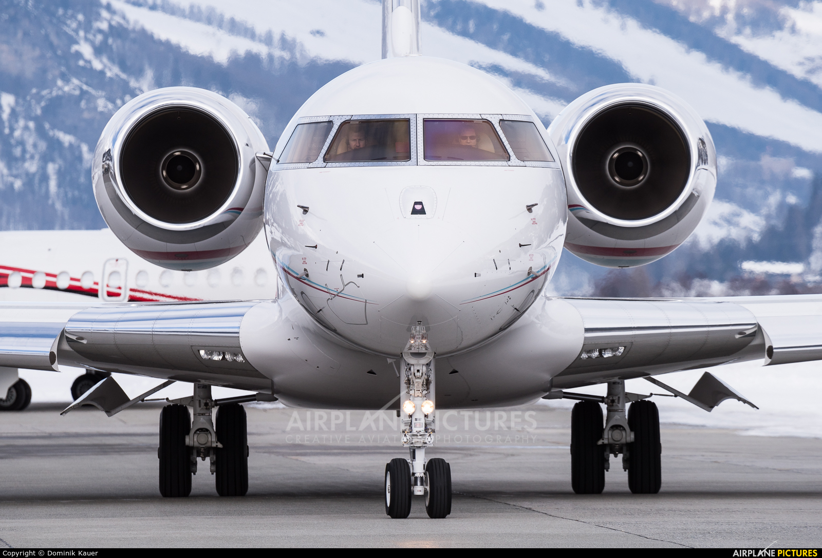 Execujet Europa AS HB-JRI aircraft at Samedan - Engadin