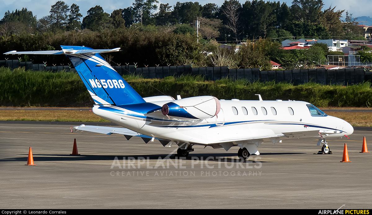Private N950RG aircraft at San Jose - Tobías Bolaños Intl