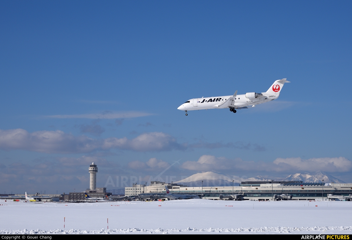 J-Air JA207J aircraft at New Chitose