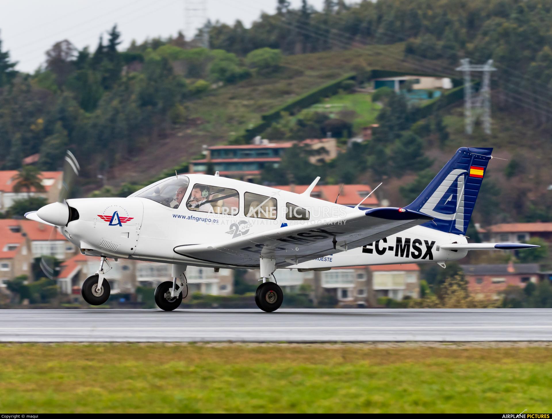 Aeroflota del Noroeste EC-MSX aircraft at La Coruña
