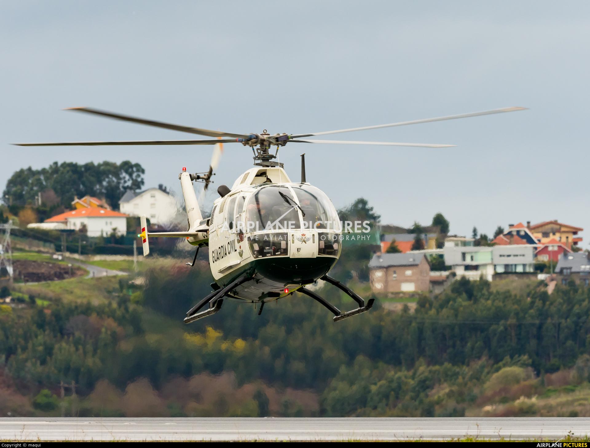 Spain - Guardia Civil HU.15-79 aircraft at La Coruña