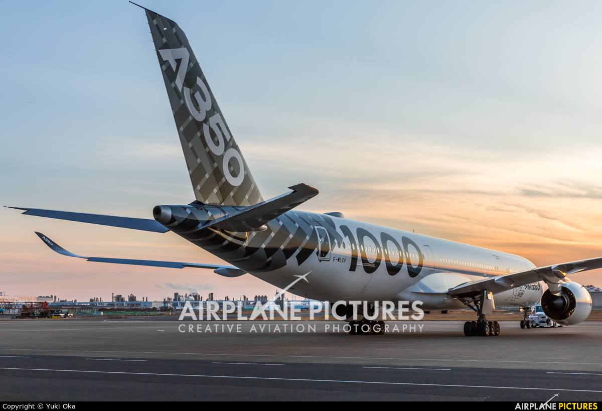 Airbus Industrie F-WLXV aircraft at Tokyo - Haneda Intl