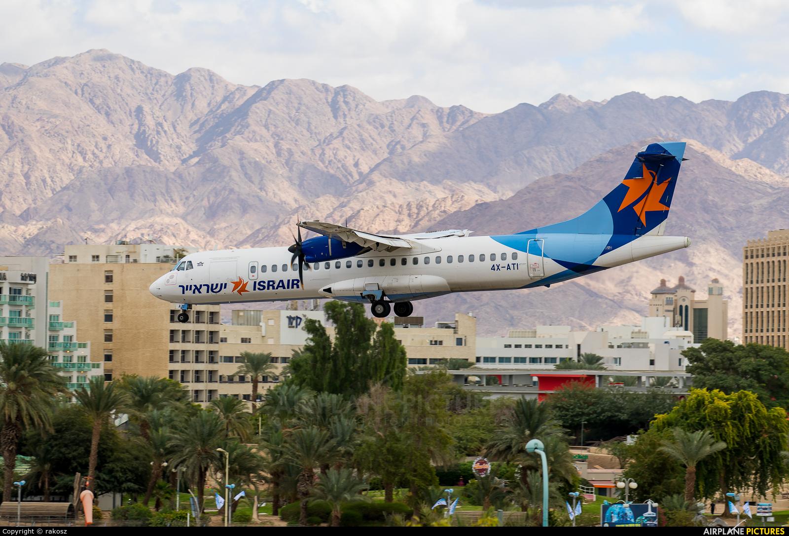 Israir Airlines 4X-ATI aircraft at Eilat - J. Hozman