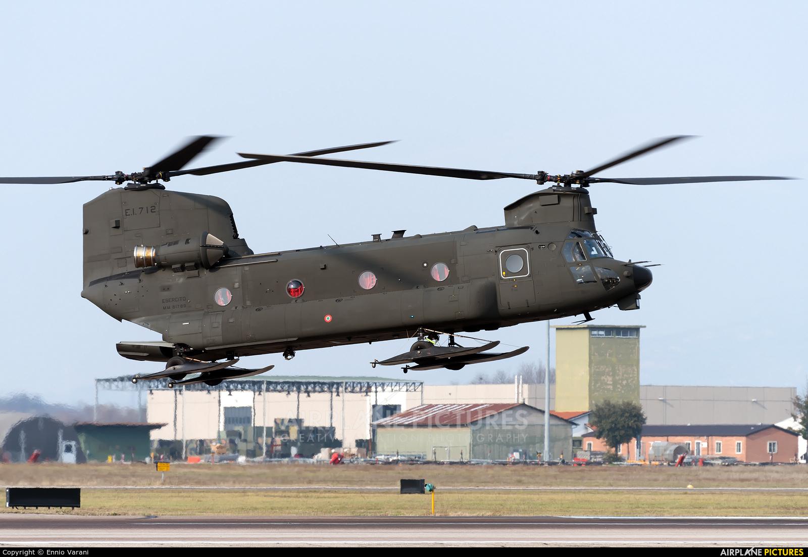 Italy - Army MM81789 aircraft at Verona - Villafranca