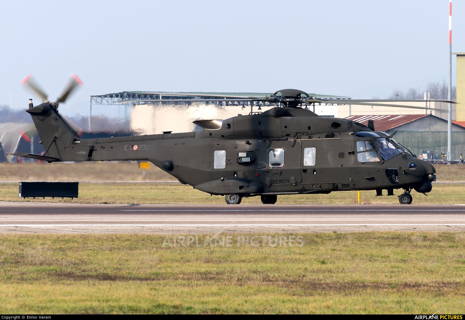 Italy - Army MM81549 aircraft at Verona - Villafranca