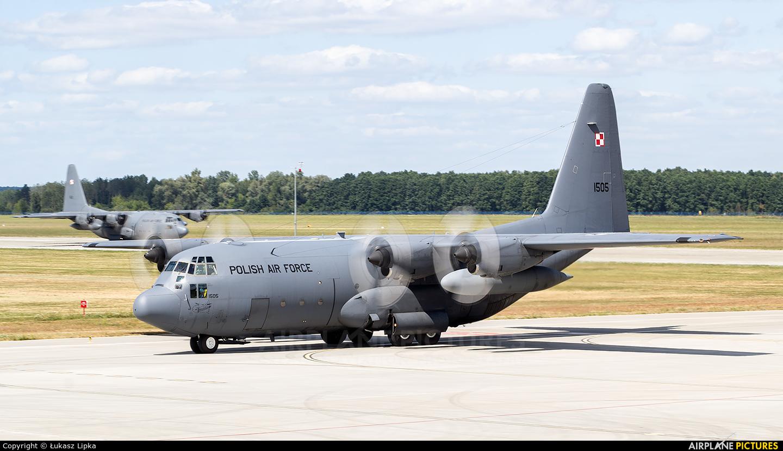 Poland - Air Force 1505 aircraft at Dęblin