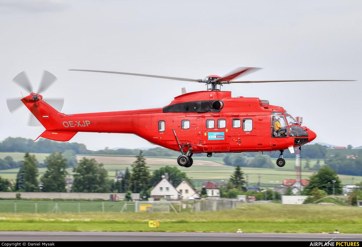 Heli Austria OE-XJP aircraft at Linz