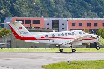 HB-GIL - Air Glaciers Beechcraft 200 King Air