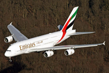 A6-EUD - Emirates Airlines Airbus A380