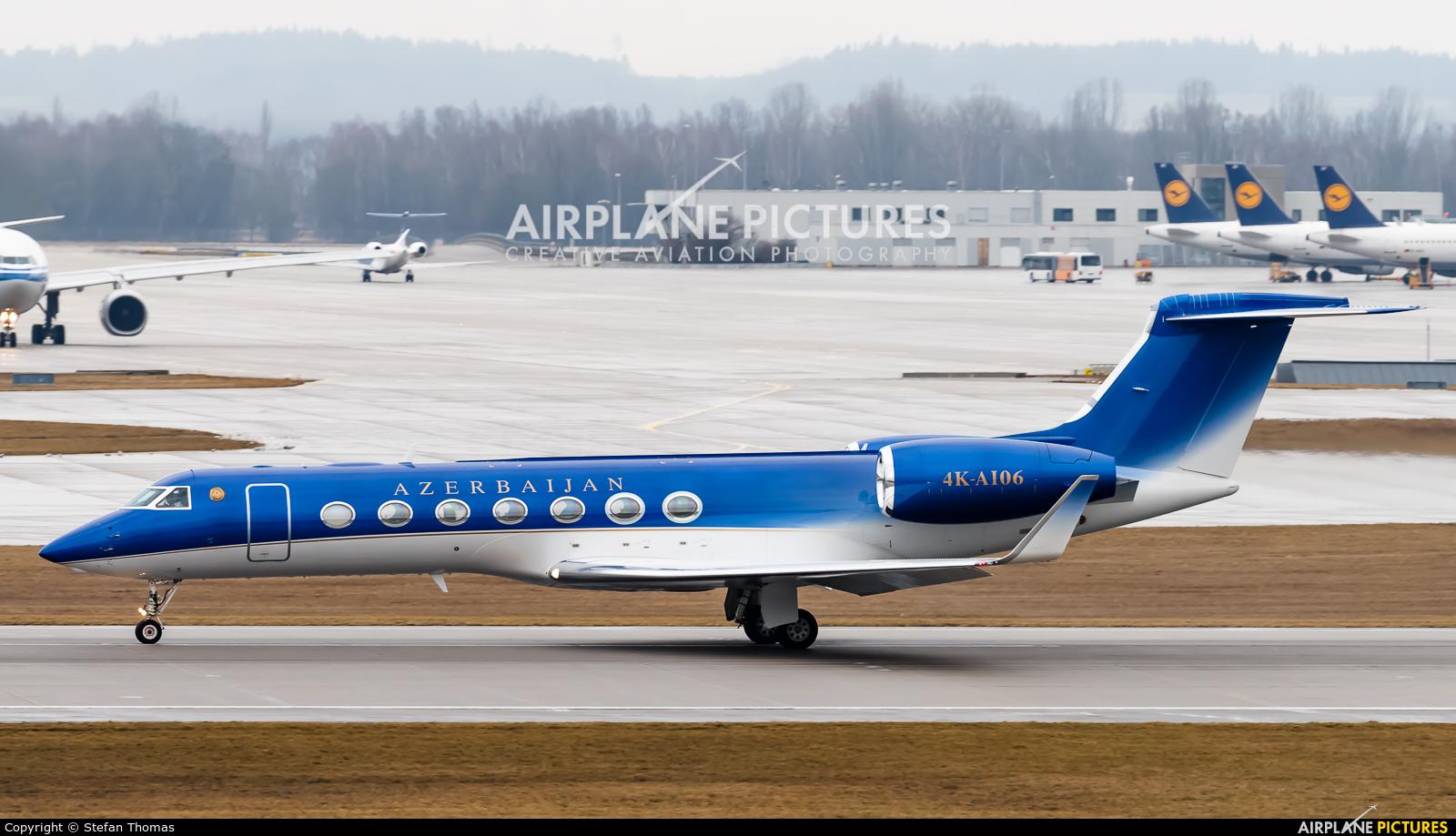 Azerbaijan - Government 4K-AI06 aircraft at Munich