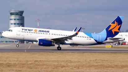 4X-ABI - Israir Airlines Airbus A320