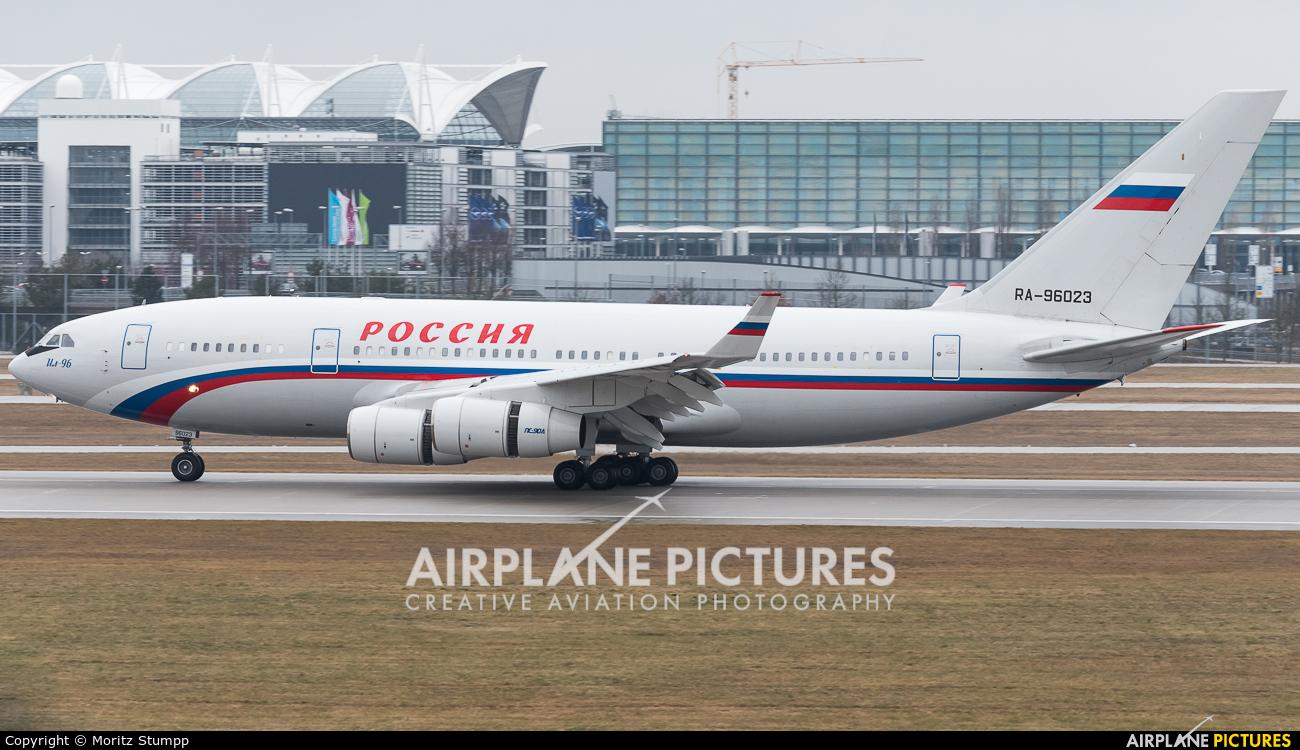 Rossiya Special Flight Detachment RA-96023 aircraft at Munich
