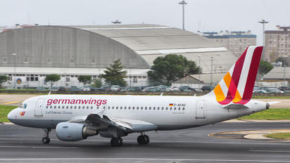 D-AKNQ - Germanwings Airbus A319