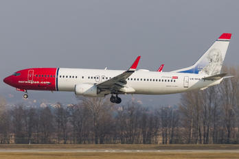 LN-NHA - Norwegian Air Shuttle Boeing 737-800