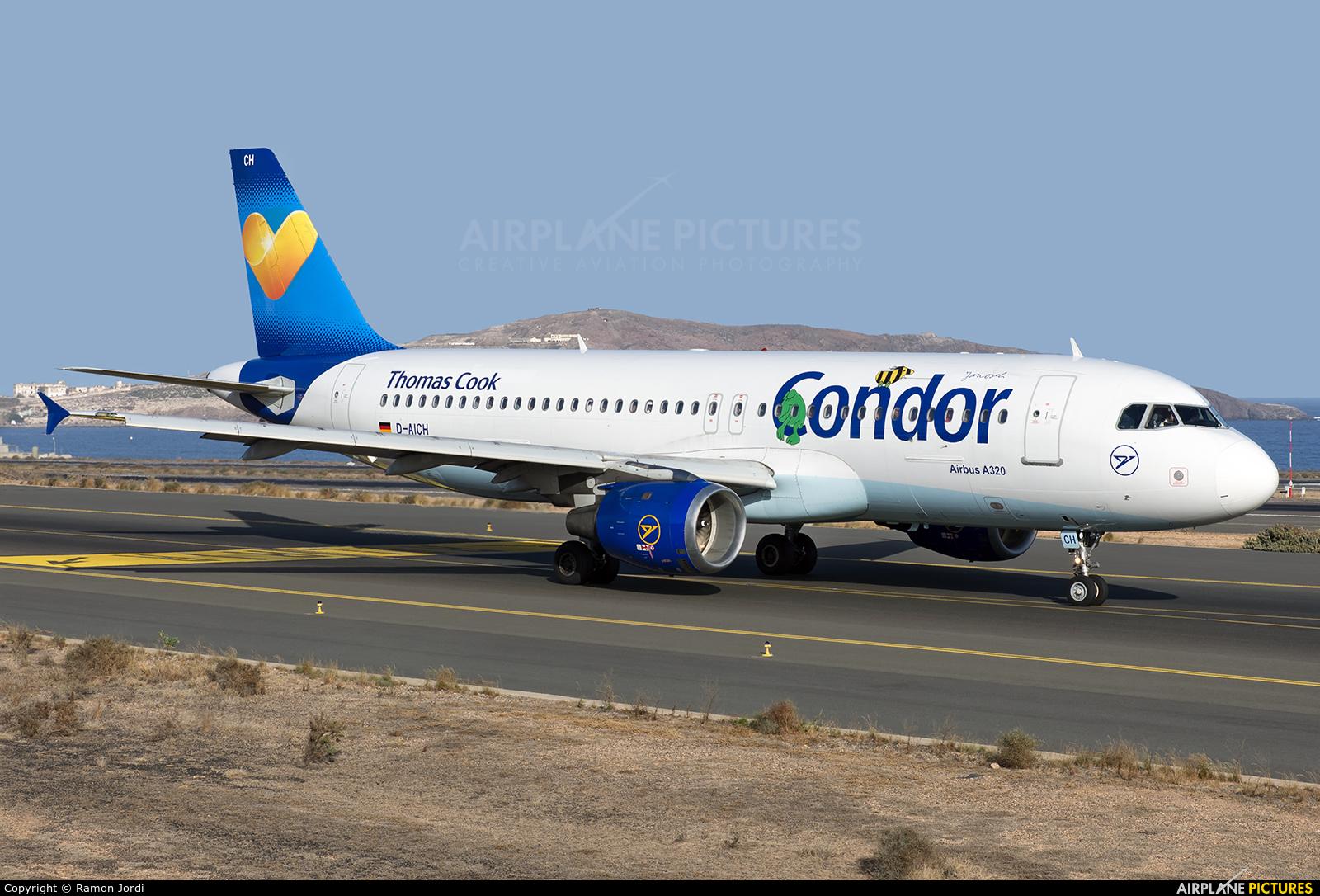 Condor D-AICH aircraft at Las Palmas de Gran Canaria