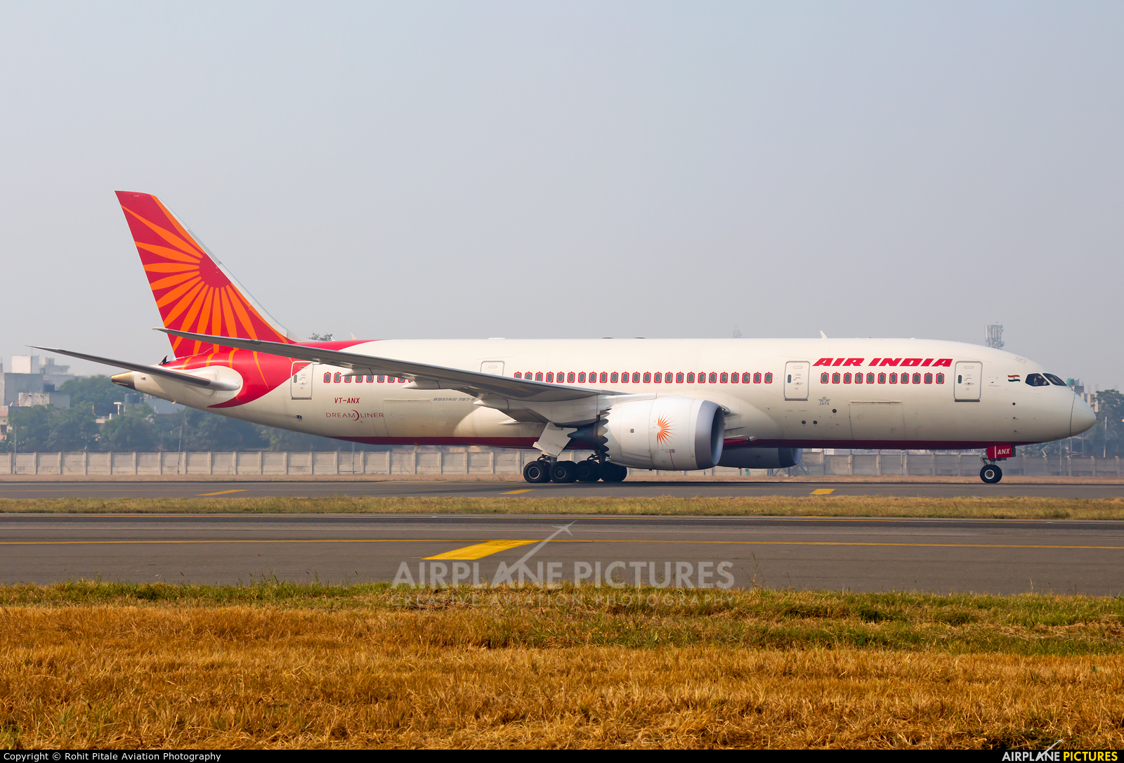 Air India VT-ANX aircraft at Delhi - Indira Gandhi Intl