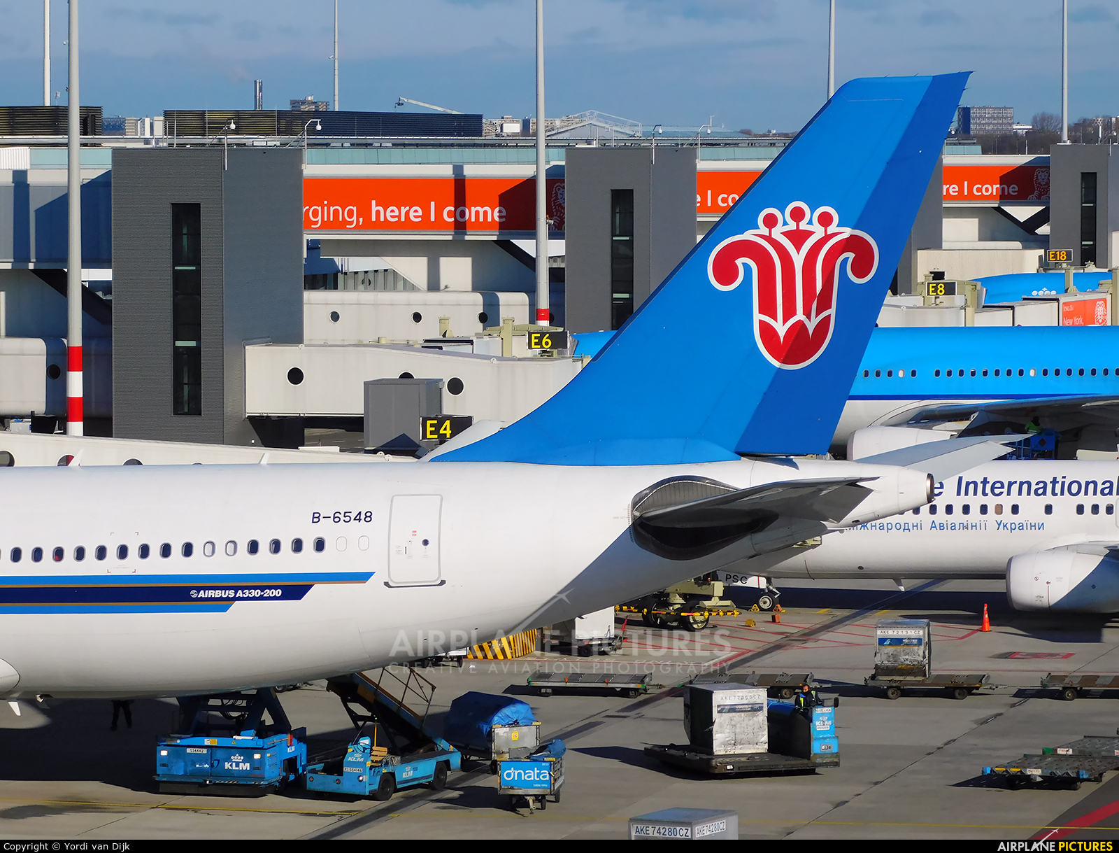 China Southern Airlines B-6548 aircraft at Amsterdam - Schiphol