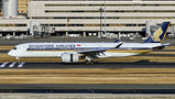Singapore Airlines Airbus A350-900 9V-SMI at Tokyo - Haneda Intl airport
