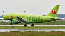 VP-BTS - S7 Airlines Airbus A319 aircraft