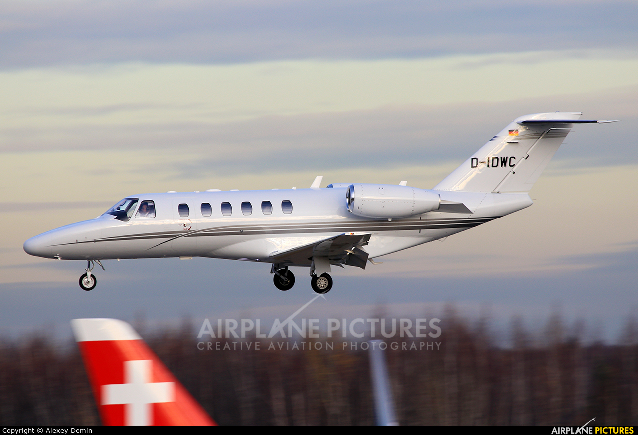 Private D-IDWC aircraft at Moscow - Domodedovo