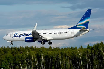 VP-BEP - Yakutia Airlines Boeing 737-800