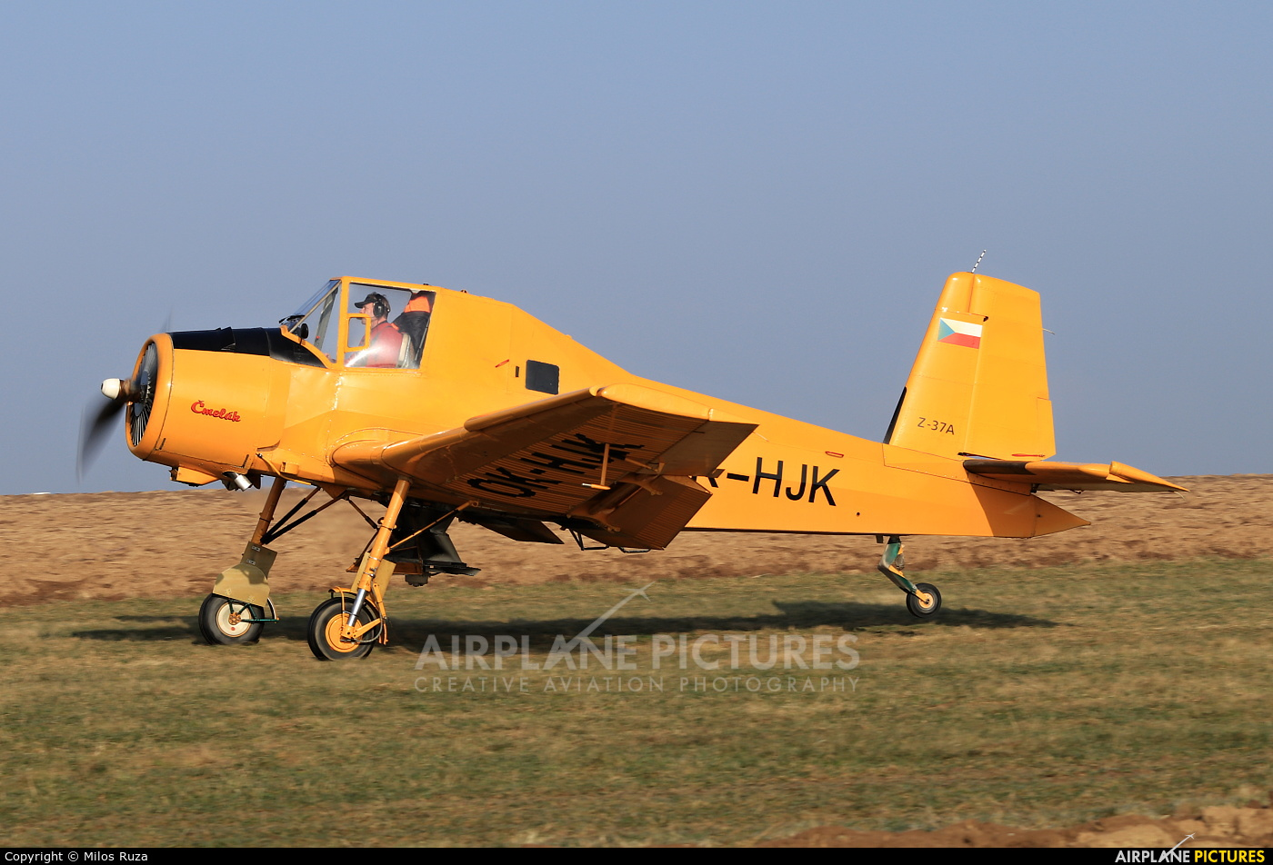 Private OK-HJK aircraft at Off Airport - Czech Republic
