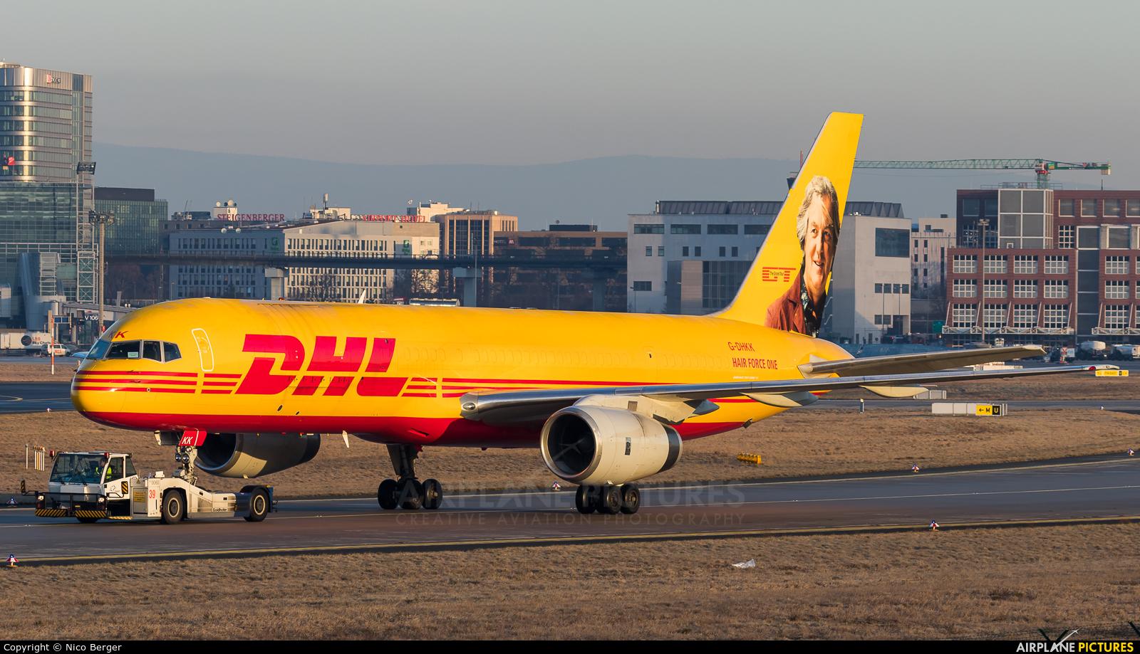 DHL Cargo G-DHKK aircraft at Frankfurt