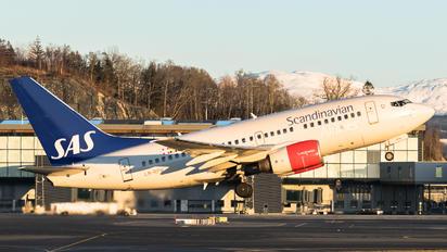 LN-RPW - SAS - Scandinavian Airlines Boeing 737-600