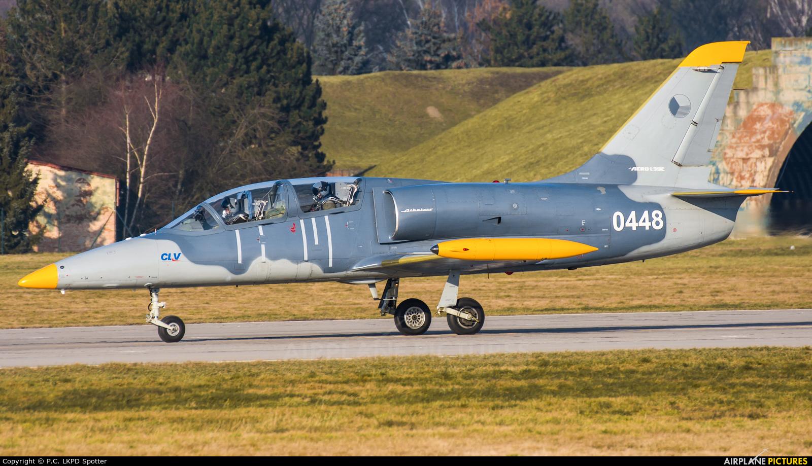 Czech - Air Force 0448 aircraft at Pardubice
