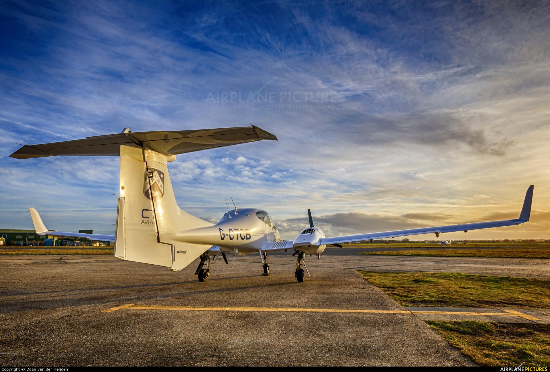 CTC Aviation / L3 CTS G-CTCB aircraft at Bournemouth
