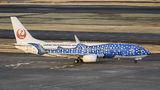 JAL - Japan Transocean Air Boeing 737-800 JA05RK at Tokyo - Haneda Intl airport