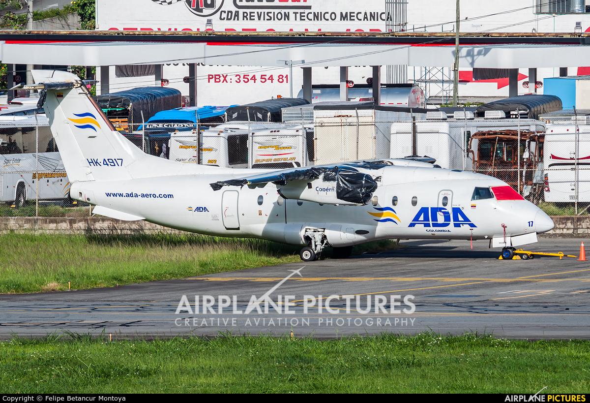 ADA Aerolinea de Antioquia HK-4917 aircraft at Medellin - Olaya Herrera