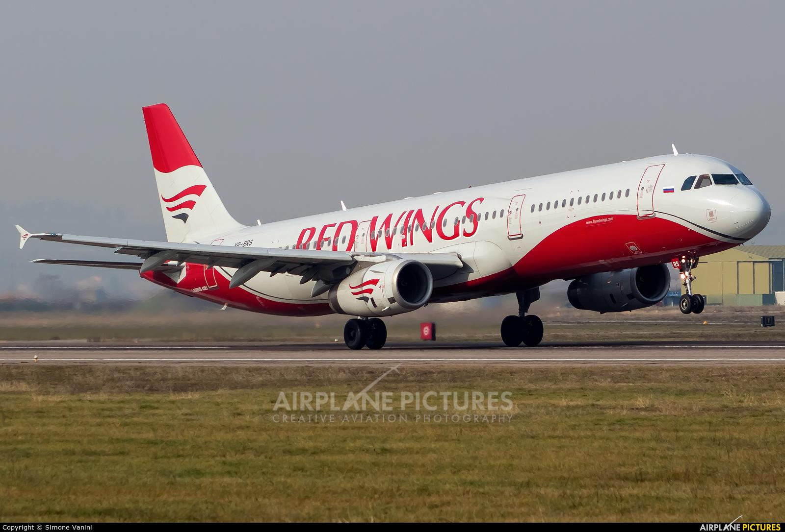 Red Wings VP-BRS aircraft at Verona - Villafranca
